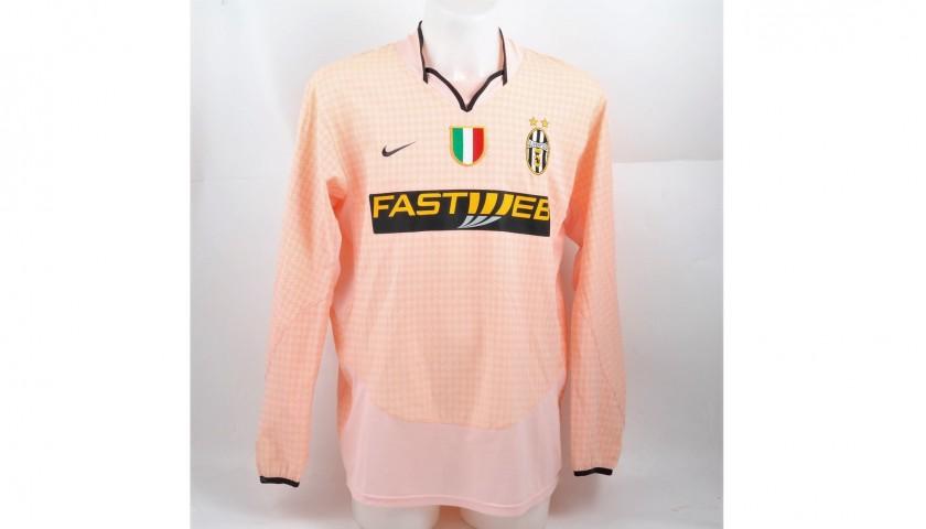 Trezeguet's Juventus Shirt, Issued/Worn Serie A 2003/04