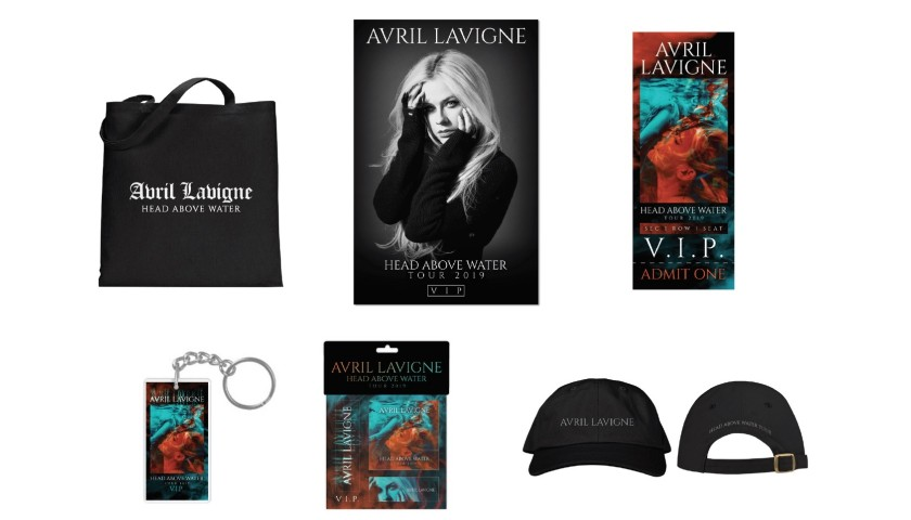 Front Row VIP Tickets for Avril Lavigne in London, United Kingdom April 1
