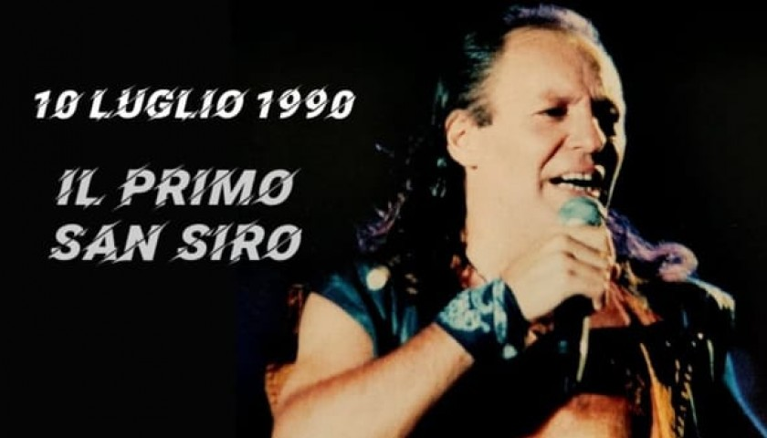 Staff T-Shirt from Vasco Rossi's First San Siro Concert in 1990