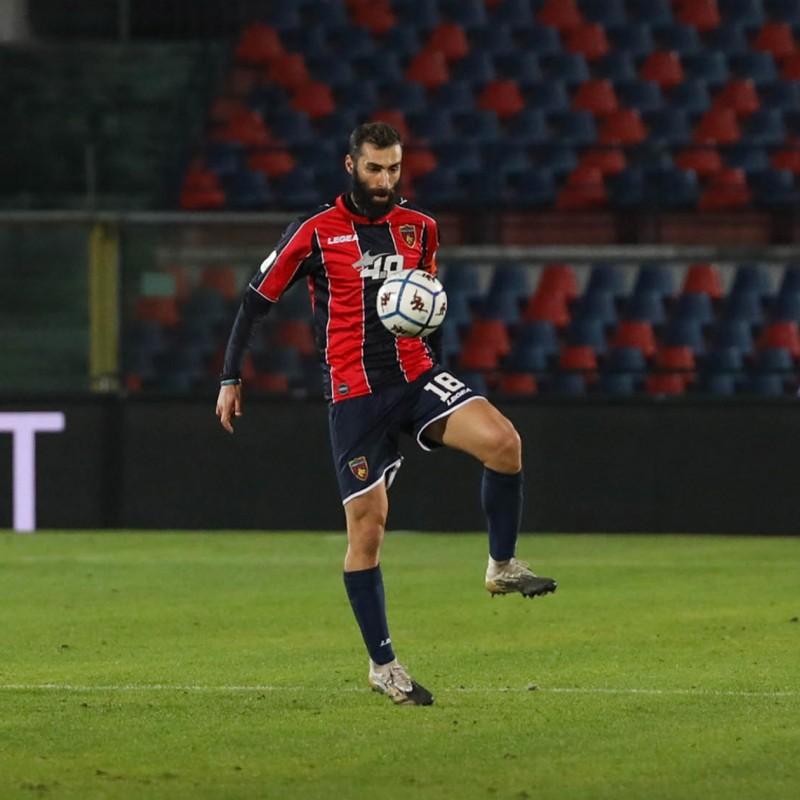 Legittimo's Cosenza Signed Match Shirt, 20/21