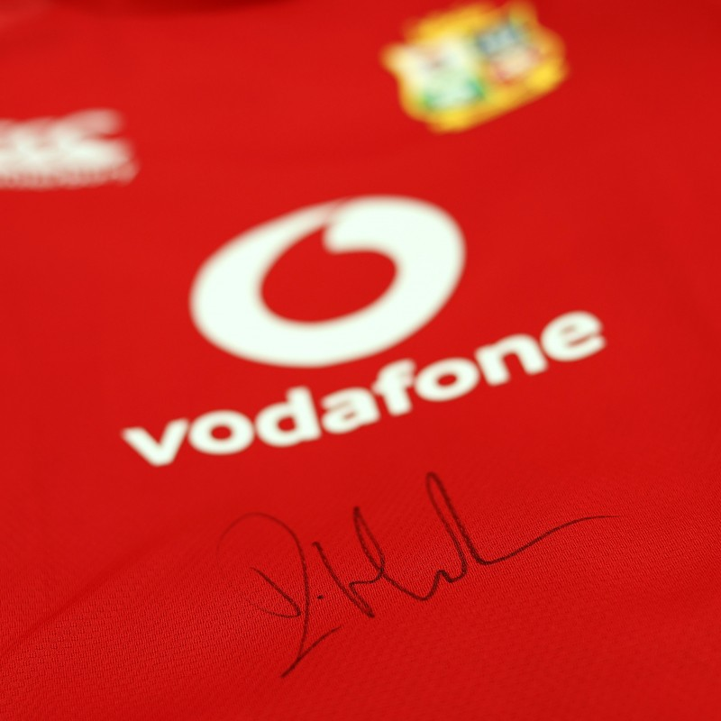 Lions 2021 Test Shirt - Worn and Signed by Iain Henderson