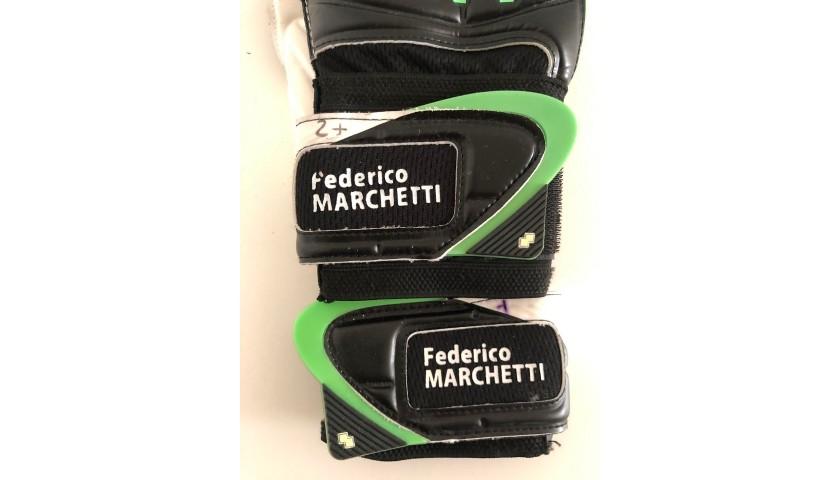 Errea Gloves Worn by Federico Marchetti, 2014/15