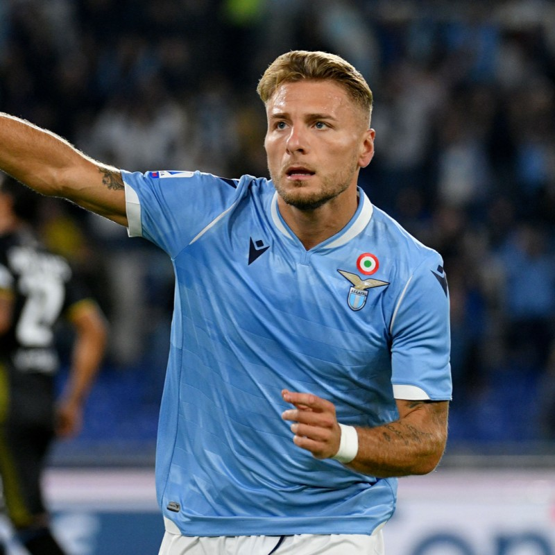 Immobile's Official Lazio Signed Shirt, 2019/20