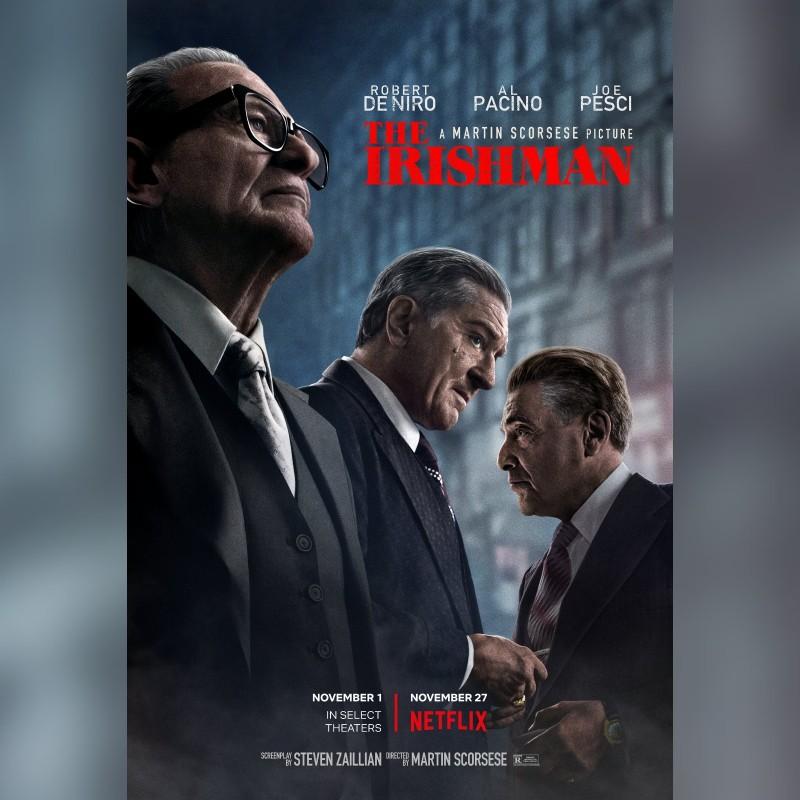 """4 Tickets to Screening of """"The Irishman"""" - Festival del Cinema in Rome"""