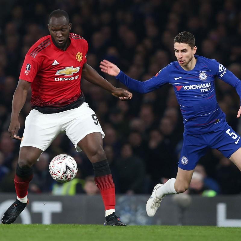 Lukaku's Match Shirt, Chelsea-Manchester United 2019