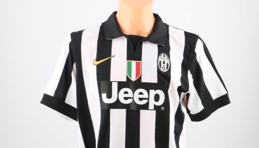 Juventus Marchisio shirt, Serie A 2014/2015 - signed
