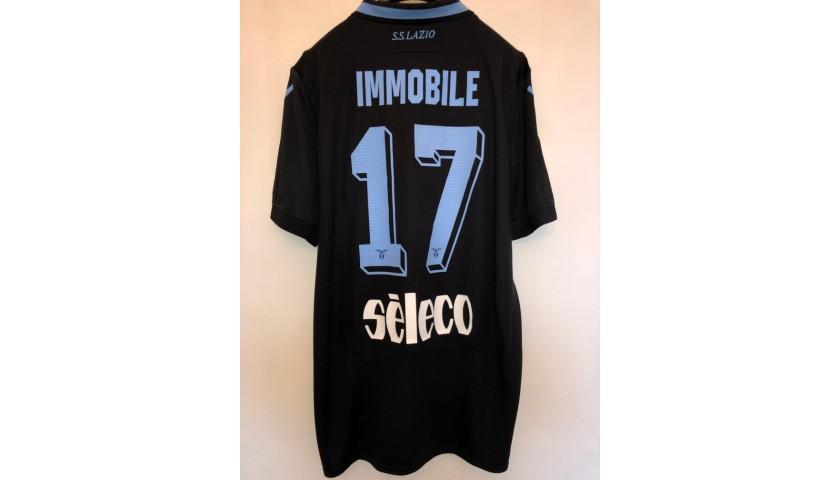 Immobile's Lazio Match Shirt, 2018/19