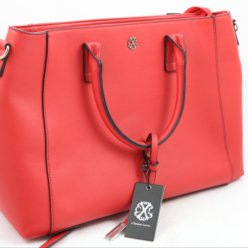 Red Christian Lacroix Bag Donated by Naomi Isted