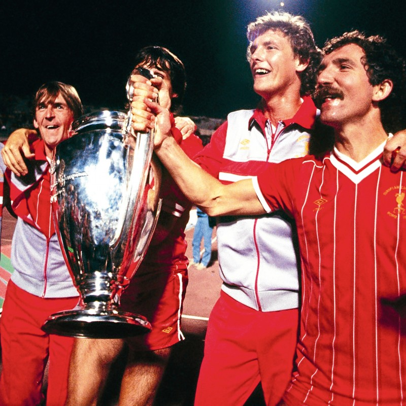 Dalglish's Match Shirt, Liverpool-Roma 1984