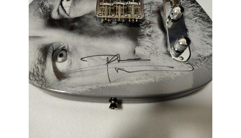 Pete Townshend Autographed Electric Guitar