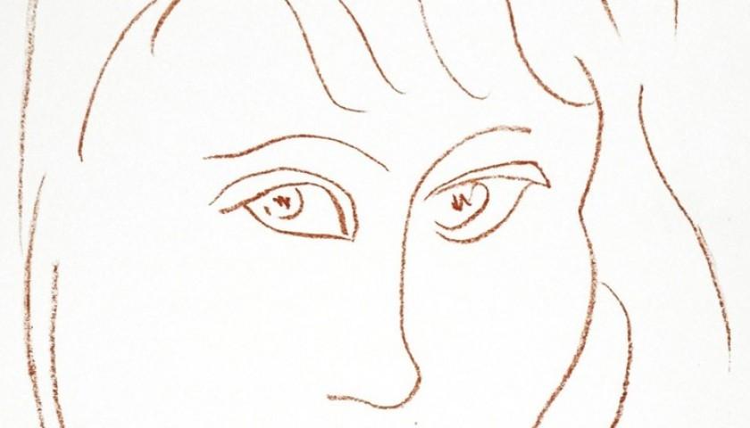 Henri Matisse - Visages Number 7, Lithograph