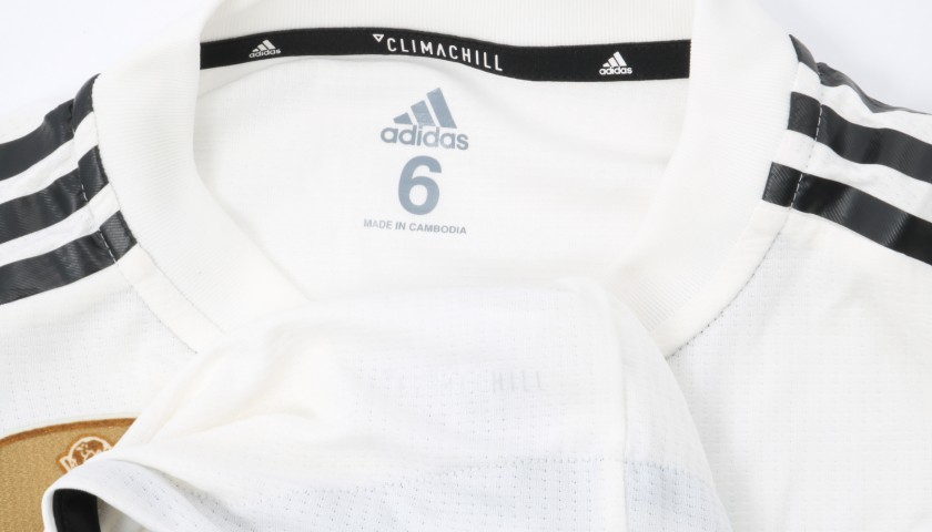 Vinicius Jr.'s Real Madrid Match Shirt, UCL 2018/19