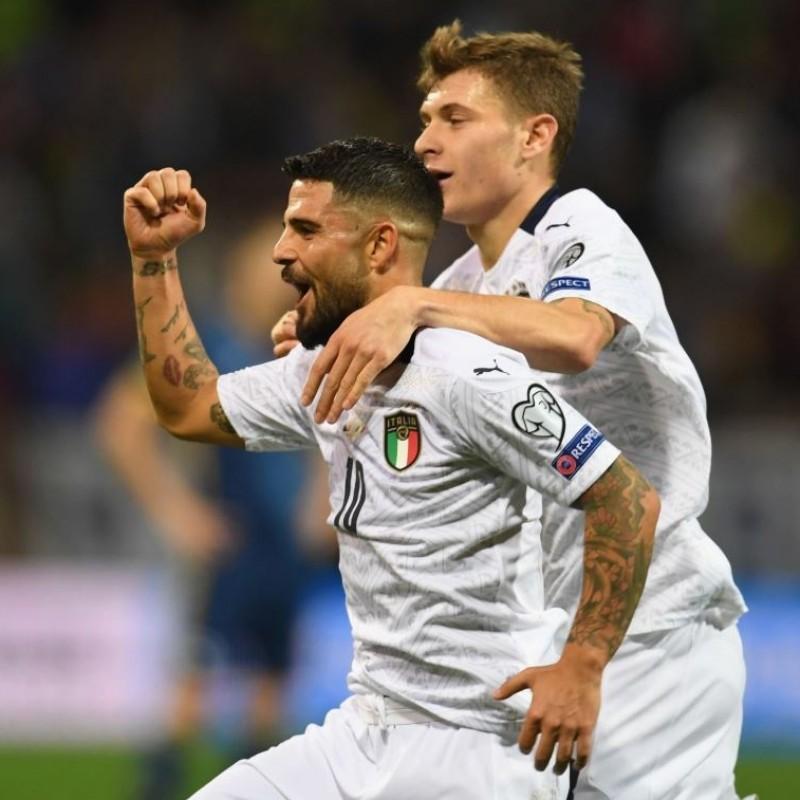Insigne's Match Shirt, Bosnia-Italy 2019