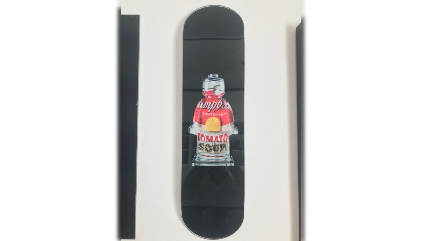 """""""Alter Ego Campbell Skate"""" - Sculpture by Alessandro Piano"""