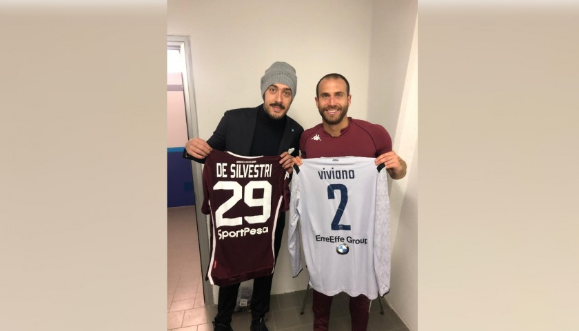De Silvestri's Worn and Signed Shirt, Spal-Torino 2019