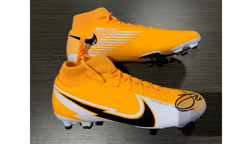 Nike Mercurial Boots - Signed by Zlatan Ibrahimovic