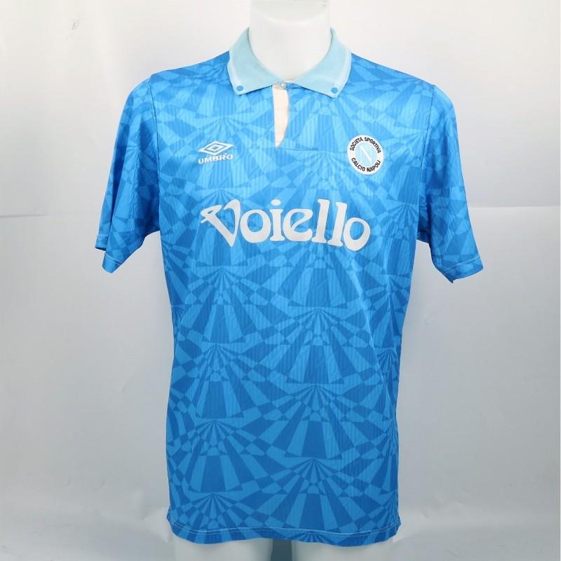 De Napoli's Match-Worn Shirt, Serie A 1991/92