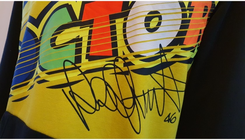Official VR46 Sweatshirt - Signed by Valentino Rossi