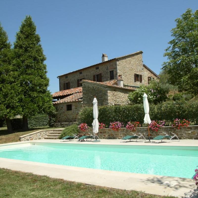 Soggiorno di una settimana per 12 in una villa in Toscana