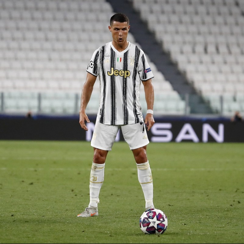Ronaldo's Official Juventus Signed Shorts, 2020/21