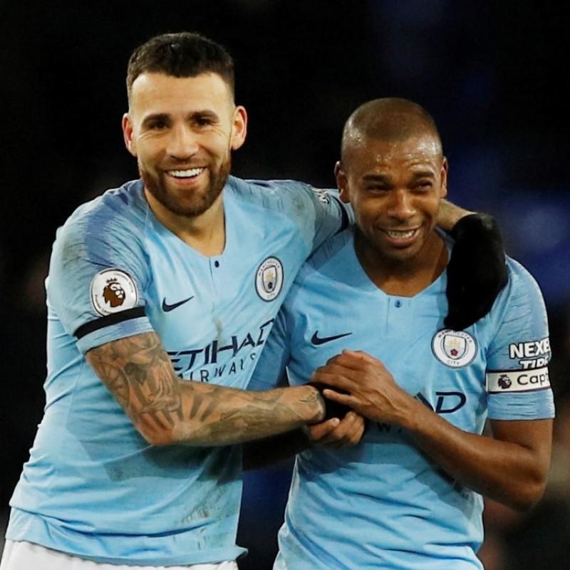 Otamendi's Manchester City Kit, Premier League 2018/19
