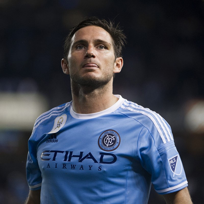Lampard's New York City Match-Issued Shirt, 2015/16 MLS