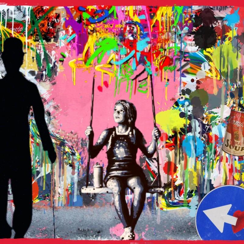 """Looking for vs Banksy"" by Mr Ogart"