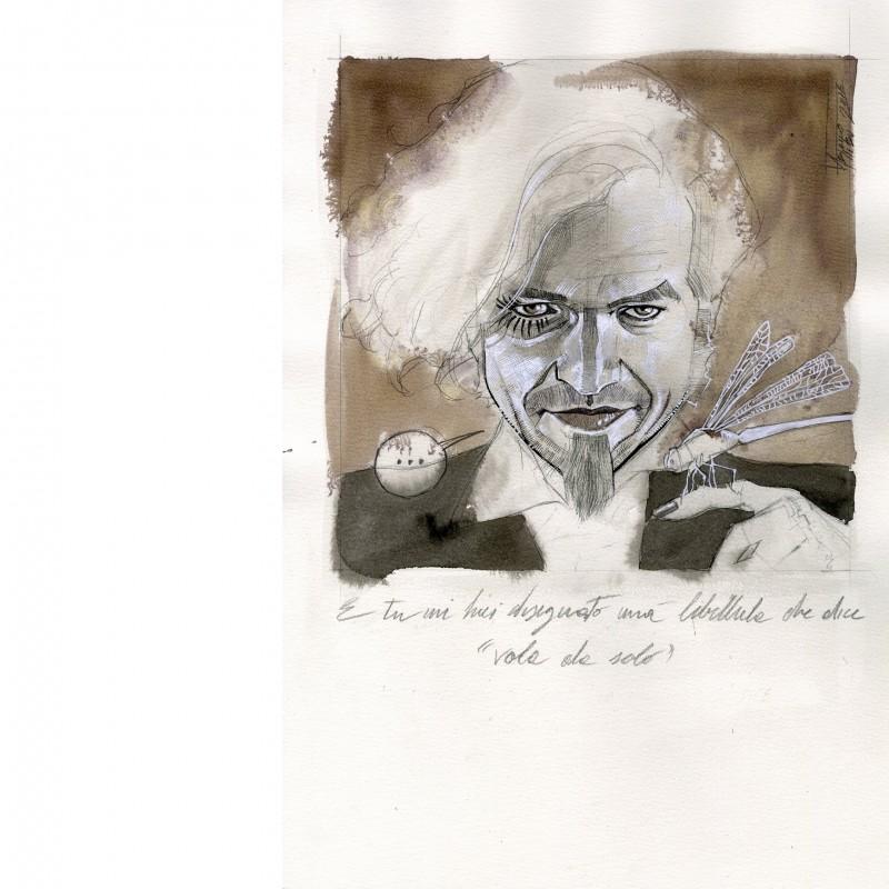 Morgan's portrait by Fabiano Ambu