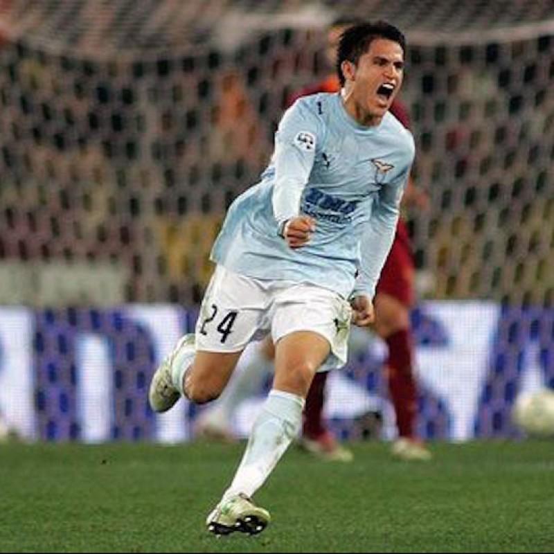 Ledesma's Lazio Match Shirt, 2006/2007