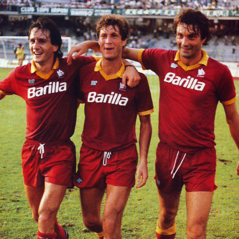 Roma Shirt Season 1987/88 - Worn by Collovati