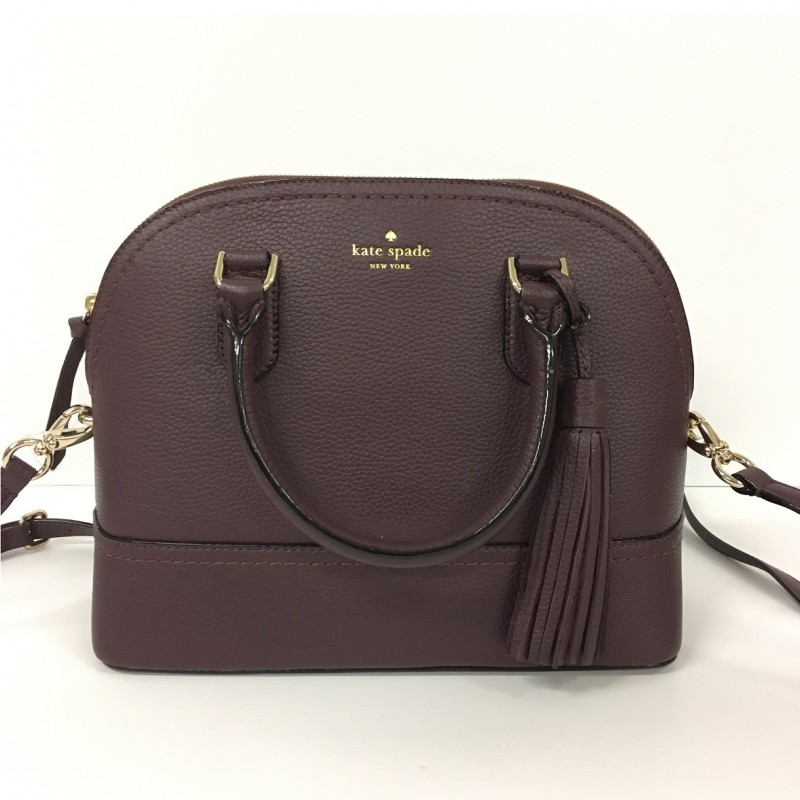 Kate Spade Plum Leather Handbag