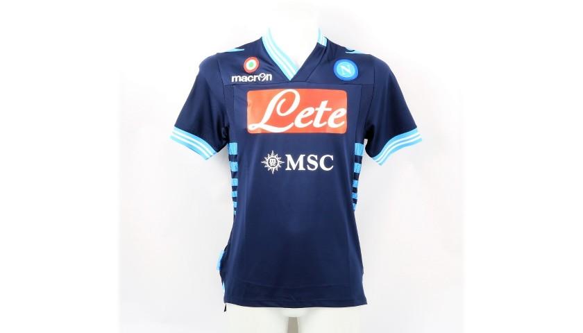 Maglia Cavani Napoli Indossata 2012 13 Autografata Charitystars