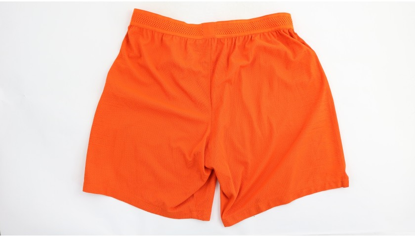 Otamendi's Manchester City Match Shorts, Champions League 2018/19