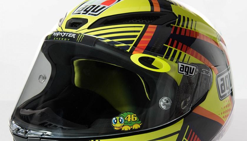 Valentino Rossi Signed 2015 Helmet - MotoGP