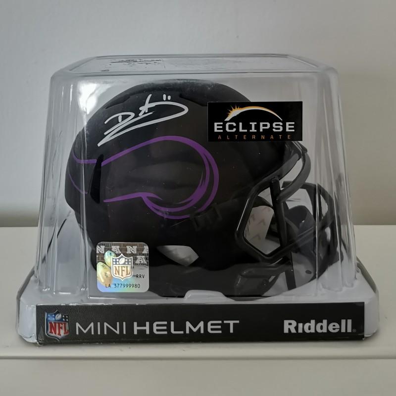 Minnesota Vikings Eclipse NFL Mini Helmet Signed By Duante Culpepper