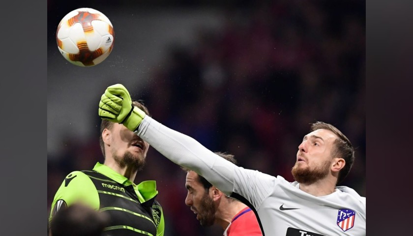 Oblak's Match Shirt, Atletico Madrid-Sporting CP 2018