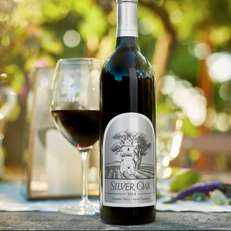 2014 Silver Oak Alexander Valley Cabernet Sauvignon 1.5 Liter, Signed by Winemaker Nate Weis