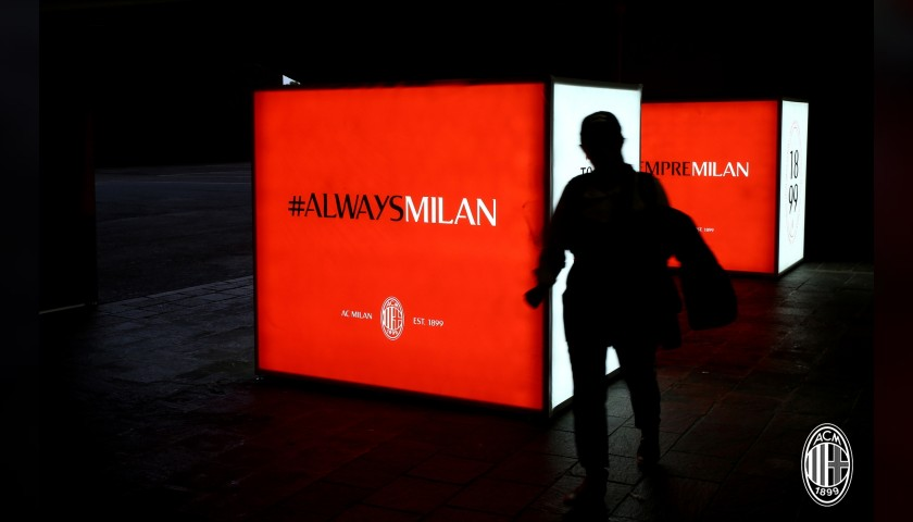 Mascot Experience at the AC Milan-Lazio Match