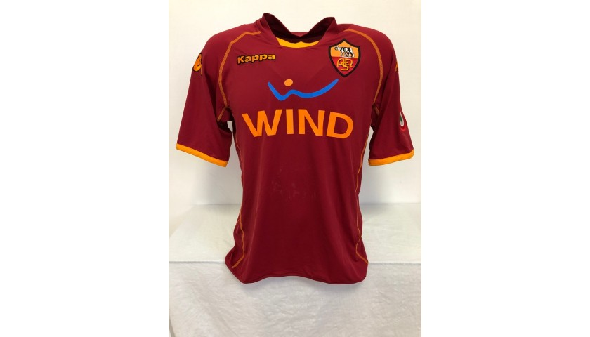Totti's Official Roma Signed Shirt, 2008/09