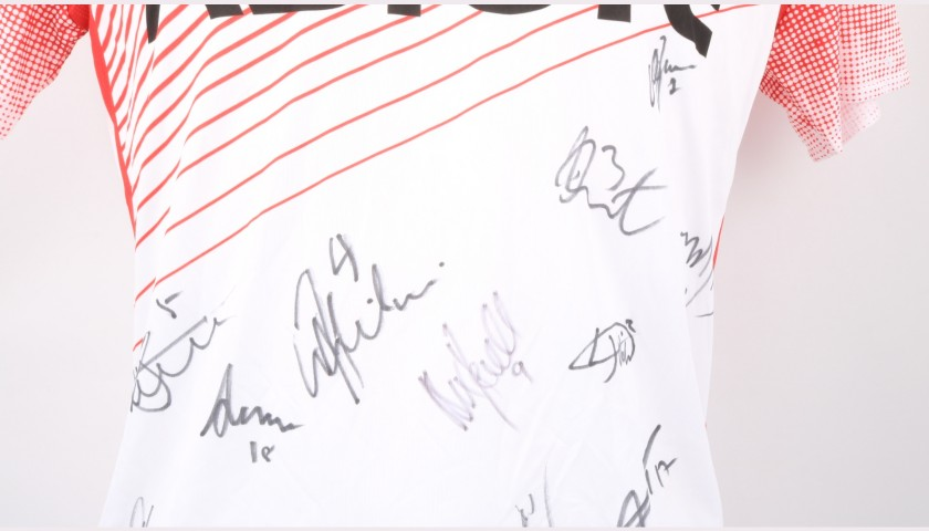 Stevenage Official Poppy Shirt Signed by the Team