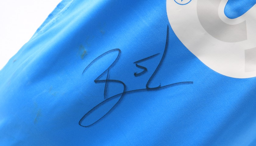 Britos' Napoli Worn and Signed Shirt, Serie A 2013/14