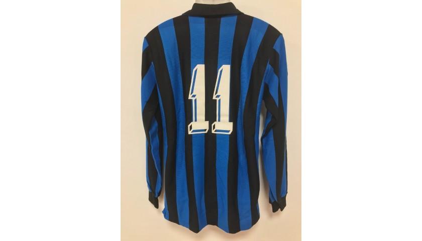 Serena's Inter Match Shirt, 1983/84 Season