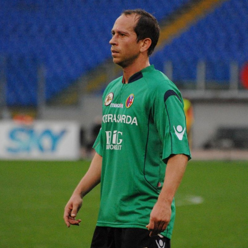 Adailton's Centenary Match Shirt, Juventus-Bologna 2009