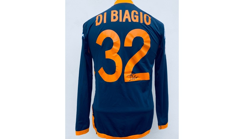 Di Biagio's Worn and Signed Shirt, Lazio-Brescia 2005