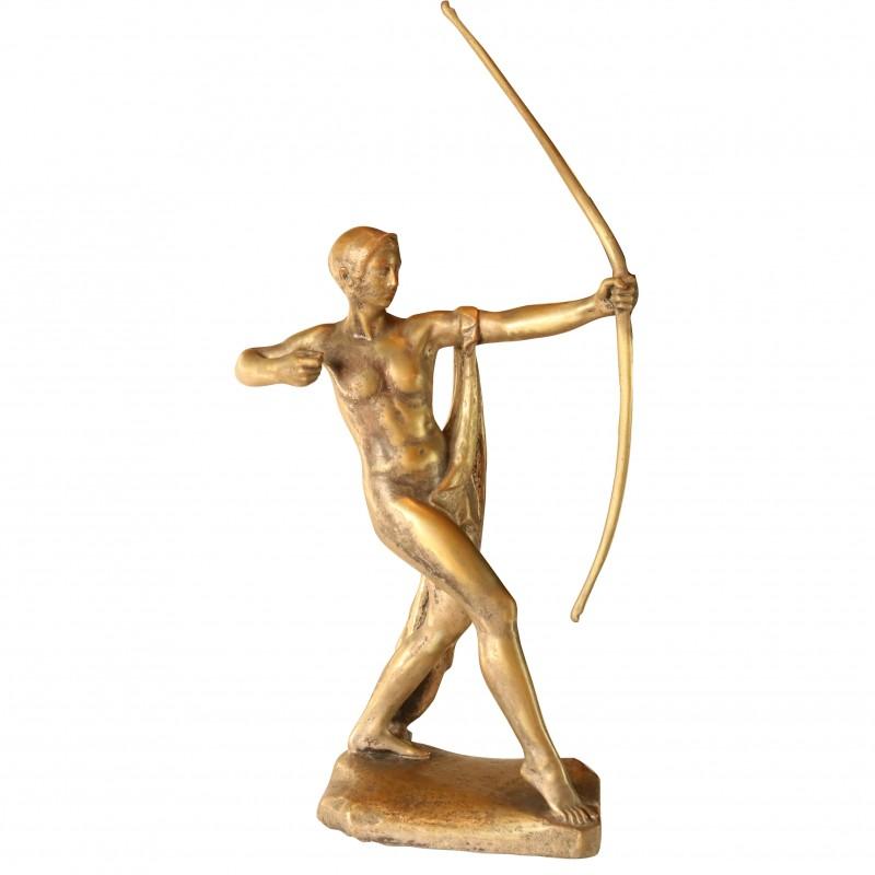 Bronze Sculpture of Archer by Paul Silvestre - Susse Frères