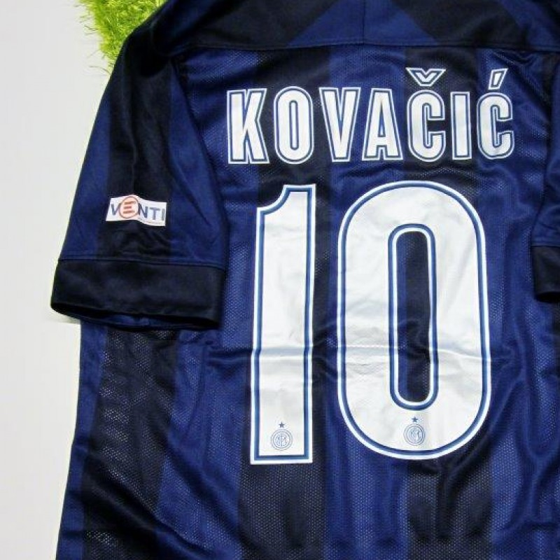 Kovacic match issued shirt, Inter-Chievo Verona, Serie A 13/14