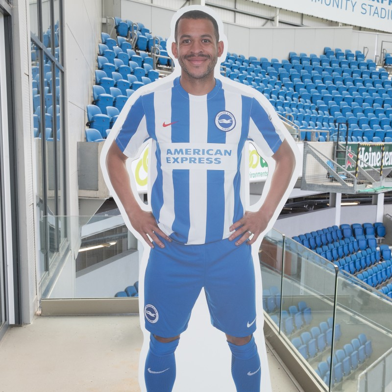 Liam Rosenior Signed Cardboard Cut-Out