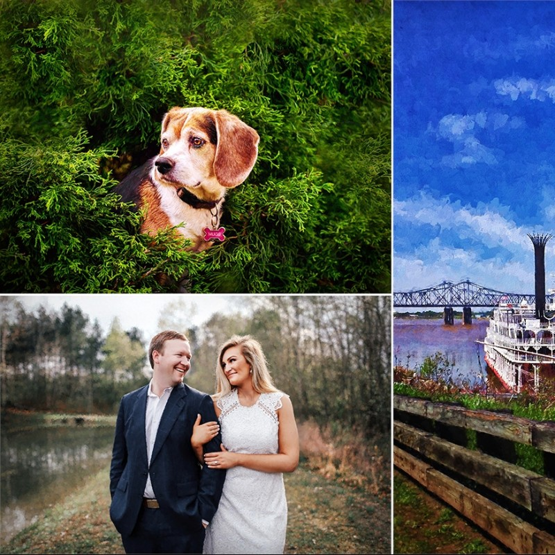 $1,000 Credit Toward Painting Rendered From Your Favorite Photo