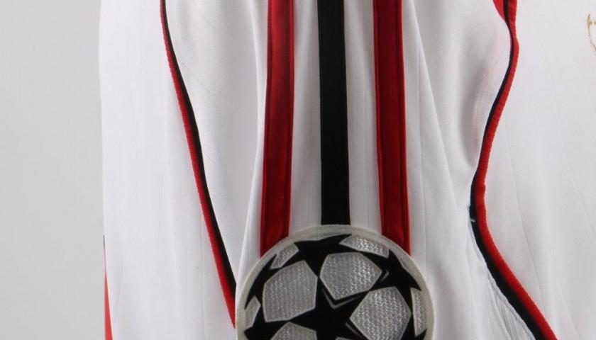 Kaka's match issued shirt, C.League 2007 Final Milan-Liverpool