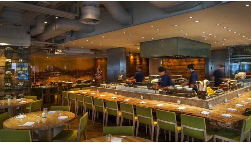 Dinner and Wine for 4 at Roka, Zuma and Oblix